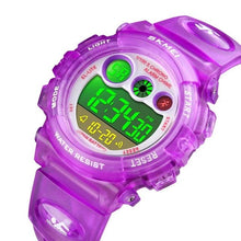 C-Thru Strap Watch with Multi Coloured Light