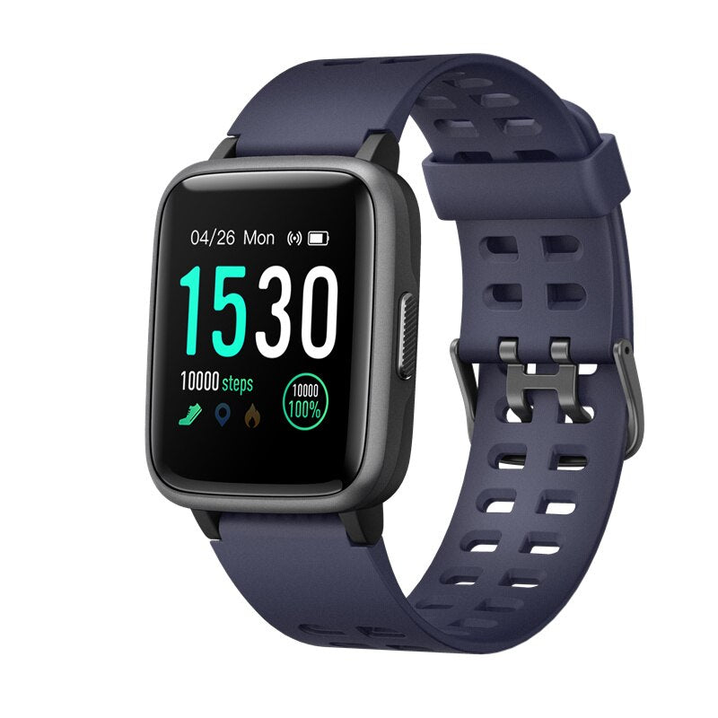 Bright Screen Square Face Waterproof Fitness Tracker