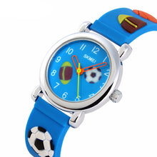 Boys Fashion Football Watch - Default Title - from Kids Watches NZ