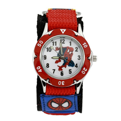 Spiderman Watch with Nylon Strap - White Face - from Kids Watches NZ