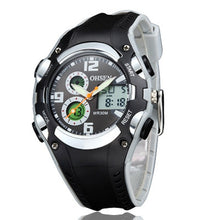 Multi Function Digital & Analogue Sports Watch - Grey - from Kids Watches NZ