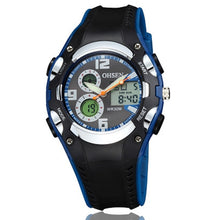Multi Function Digital & Analogue Sports Watch - Blue - from Kids Watches NZ