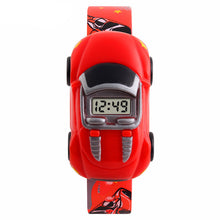 Boys Fun Digital Car Watch - Red - from Kids Watches NZ