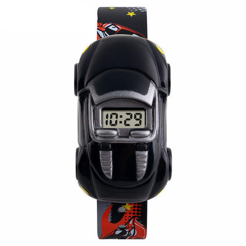 Boys Fun Digital Car Watch - Black - from Kids Watches NZ