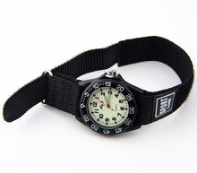 Boys Nylon Strap Watch with Glow in the Dark Numbers -  - from Kids Watches NZ