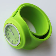 Slap Watch for Boys and Girls with Coloured Face - Lime - from Kids Watches NZ