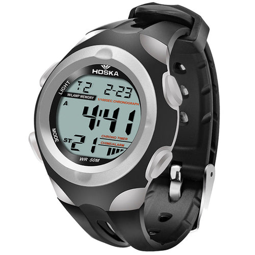 Modern Stylish Multi Time Zone Digital Watch - Pearl - Super Special - from Kids Watches NZ