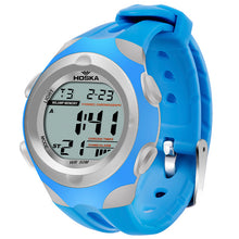 Modern Stylish Multi Time Zone Digital Watch - Light Blue - from Kids Watches NZ