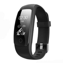 Touch Screen Fitness Tracker with Bluetooth - Black - from Kids Watches NZ