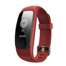 Touch Screen Fitness Tracker with Bluetooth - Red - from Kids Watches NZ