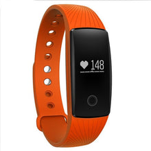 Boys and Girls Fitness Tracker Watch with Bluetooth Smartphone App - Orange - from Kids Watches NZ