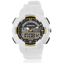 Analog and Digital Watch - 100M Water Resistant - White - from Kids Watches NZ
