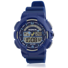 Analog and Digital Watch - 100M Water Resistant - Blue - from Kids Watches NZ