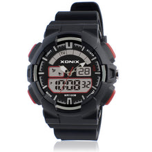Analog and Digital Watch - 100M Water Resistant - Black - from Kids Watches NZ