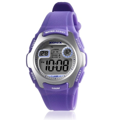 Fashionable Sporty Digital Watch - 100M Water Resistant