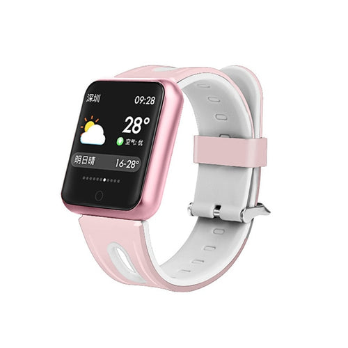 Square Face Girls Fitness Tracker Watch
