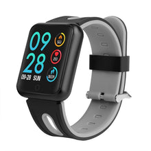 Full Function Square Face Fitness Tracker with Bluetooth with free metal strap.