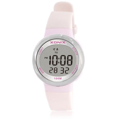 Cute Oval Face Girls Watch - 100M Water Resistant