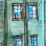 Hanging Mills | Lower Mills original art