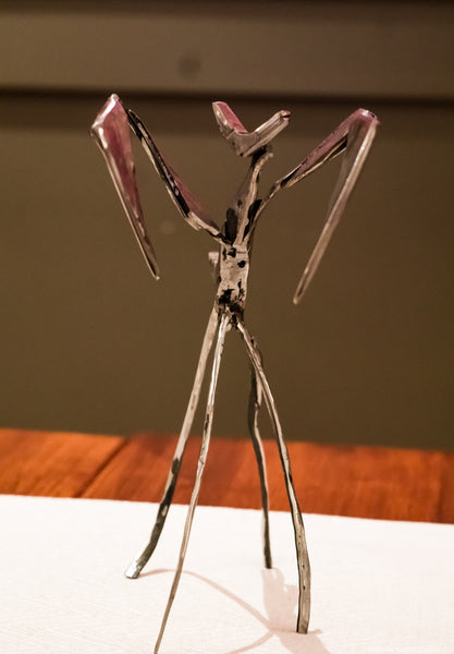 Modern Mantis Sculpture