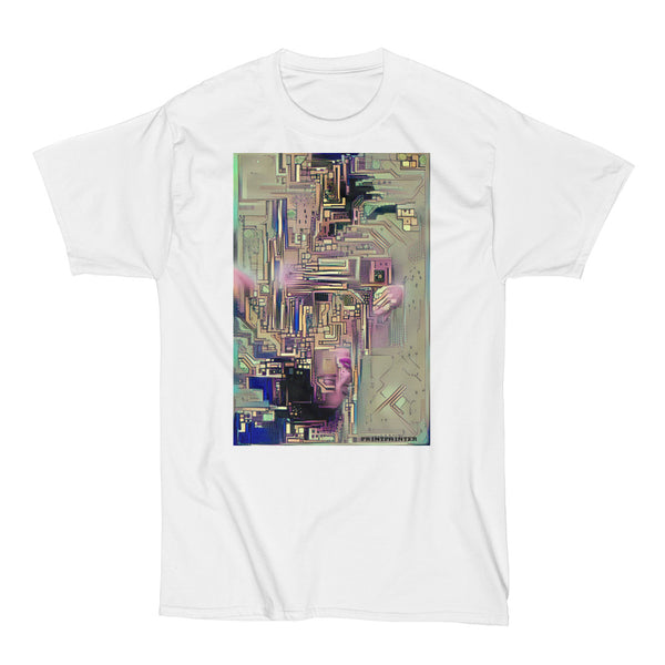 Cybernetic Super Computer Bath - Original Tee Shirt