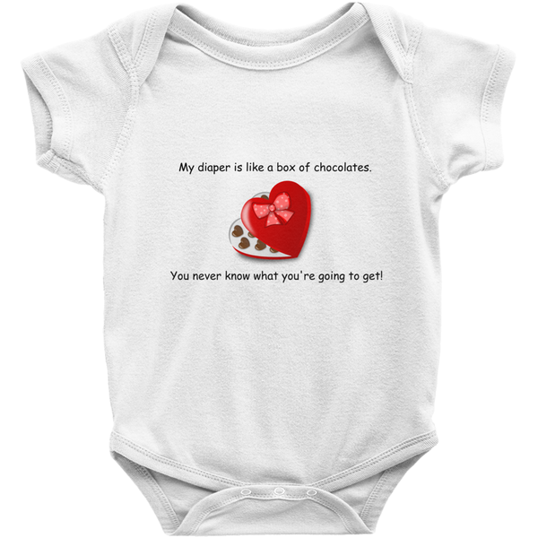 Box of Chocolates Onesie