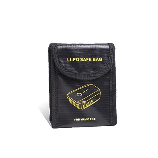 3 MAVIC Battery Fire Protection Pouches