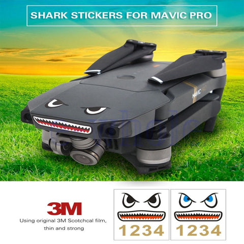 MAVIC Shark Stickers