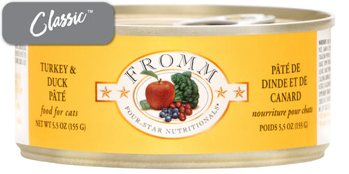 Fromm Turkey and Duck Paté Cat Cans