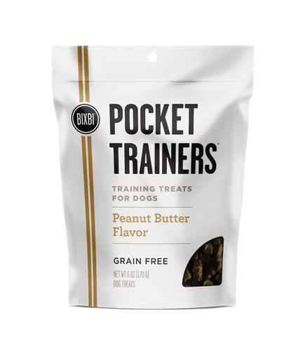 Bixbi Peanut Butter Pocket Trainer Dog Treats
