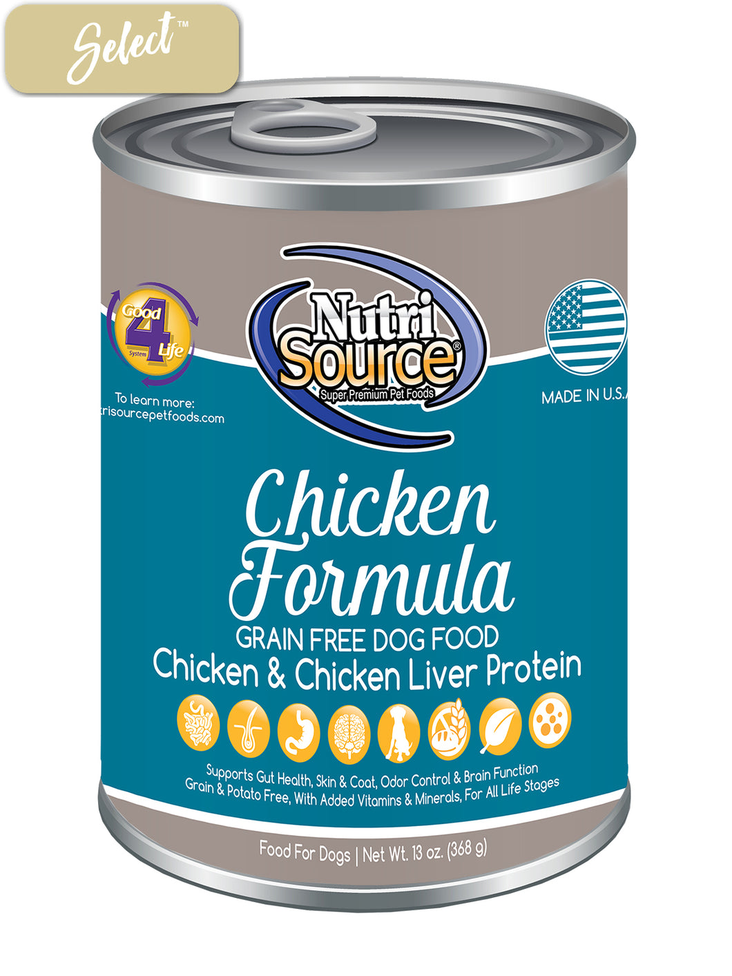 Nutrisource Grain Free Chicken Dog Cans