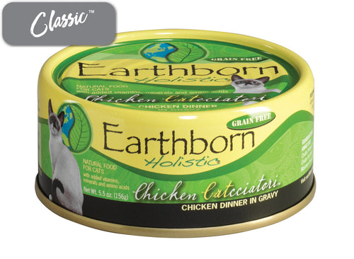 Earthborn Chicken Catcciatori Cat Cans