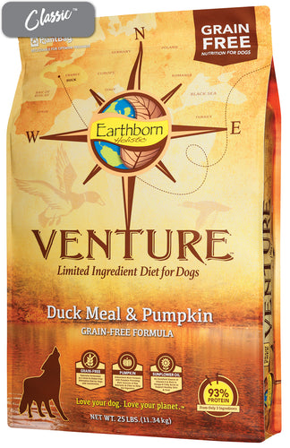 Earthborn Duck and Pumpkin Dog Food