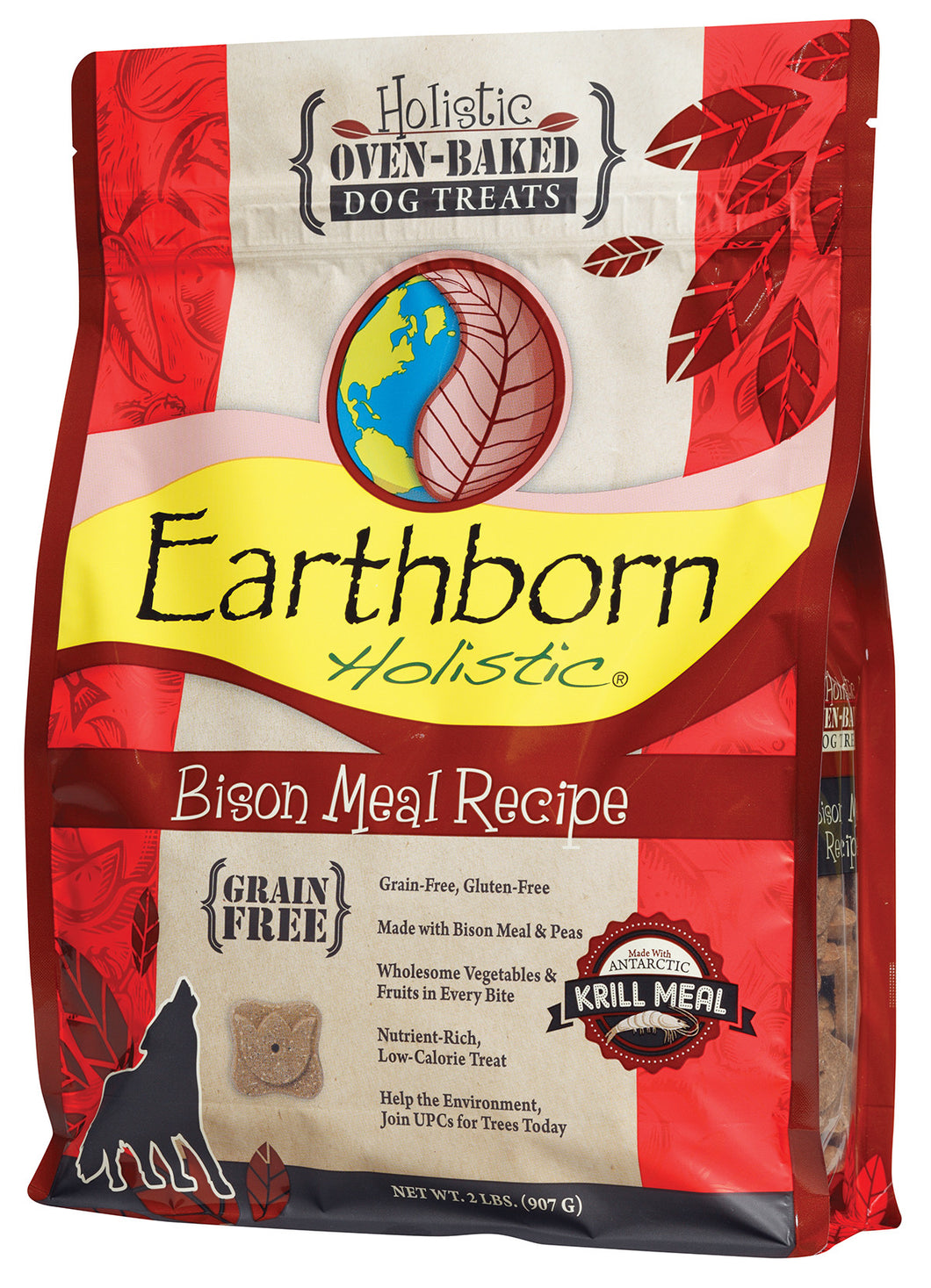 Earthborn Oven Baked Bison Biscuits Dog Treats