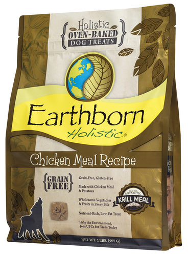 Earthborn Oven Baked Chicken Biscuits Dog Treats