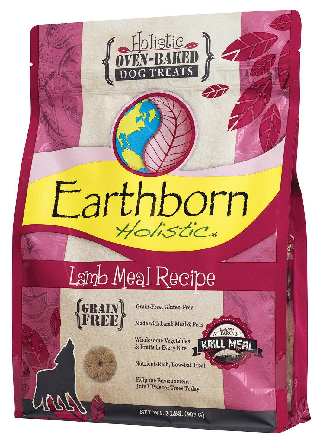 Earthborn Oven Baked Lamb Biscuits Dog Treats