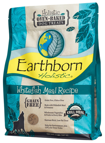 Earthborn Oven Baked Whitefish Biscuits Dog Treats