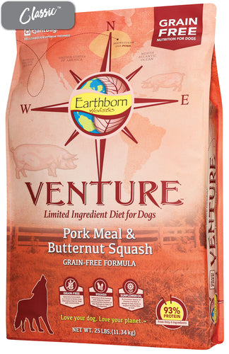 Earthborn Pork and Butternut Squash Dog Food