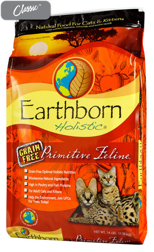 Earthborn Primitive Turkey Cat Food