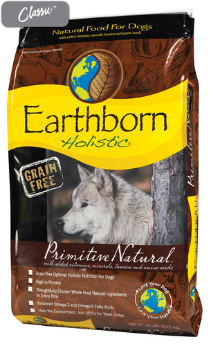 Earthborn Primitive Turkey Dog Food