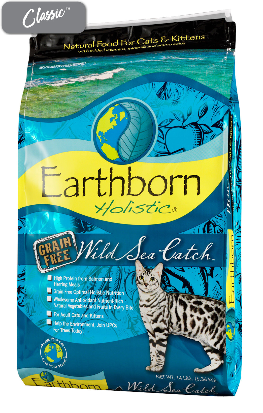 Earthborn Wild Sea Catch Salmon Cat Food