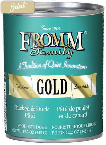 Fromm Gold Chicken and Duck Dog Cans