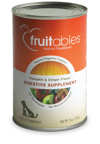 Fruitables Pumpkin Dog and Cat Supplement