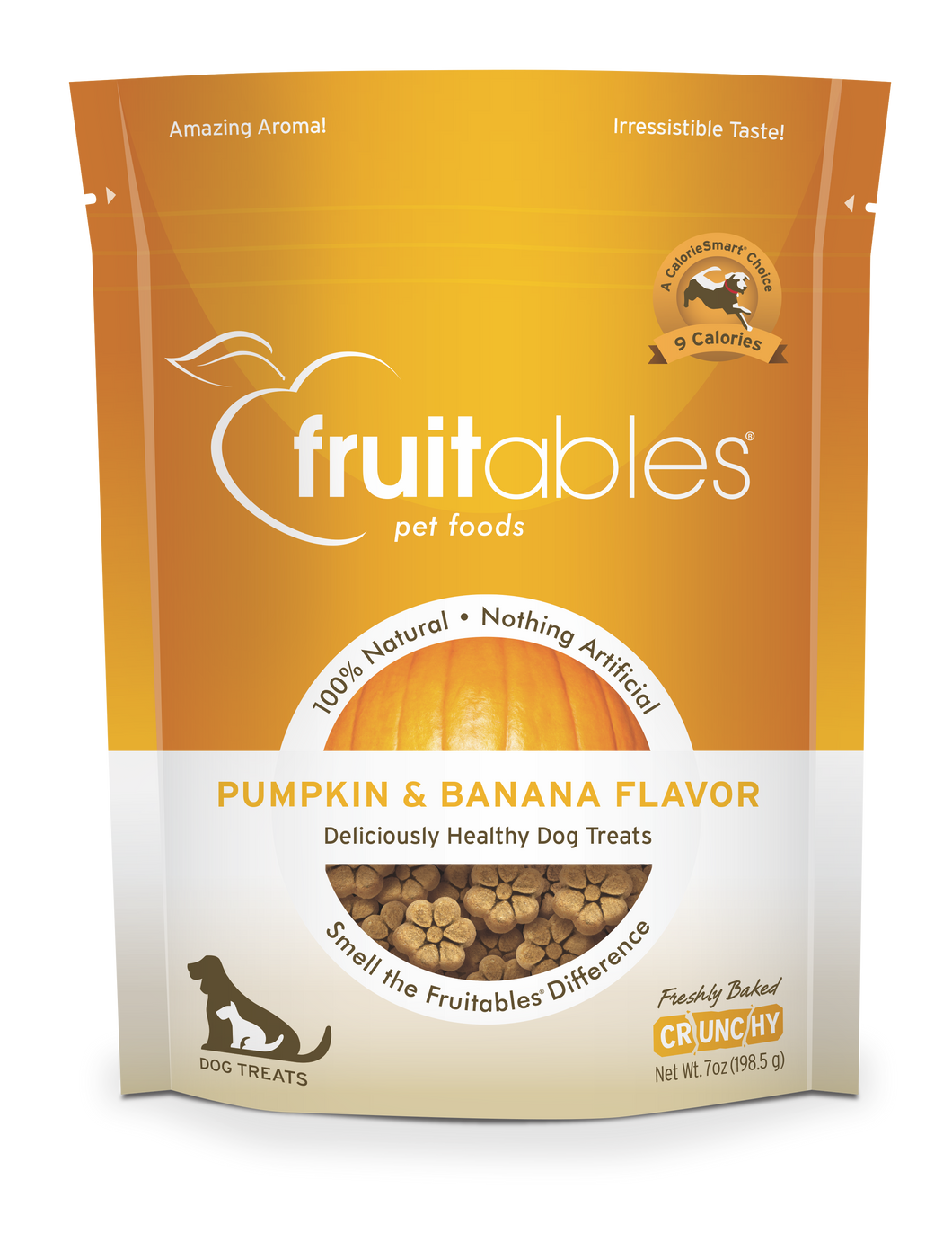 Fruitables Pumpkin and Banana Dog Treats