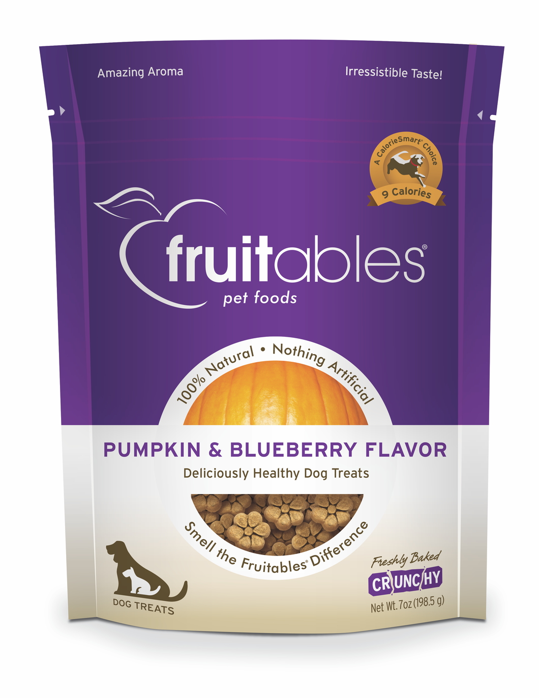 Fruitables Pumpkin and Blueberry Dog Treats