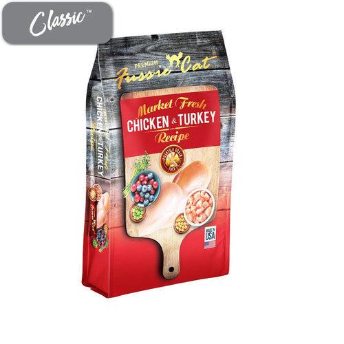 Fussie Cat Market Fresh Chicken and Turkey Cat Food