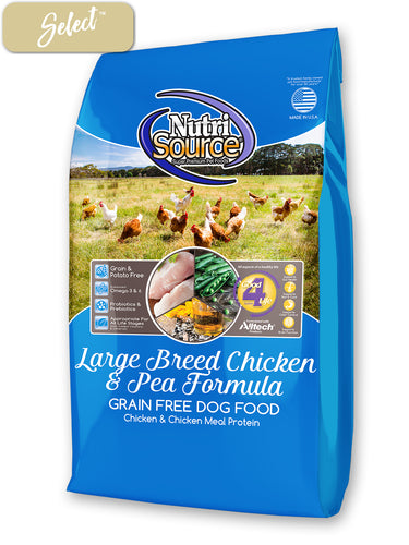Nutrisource Large Breed Chicken and Pea Dog Food