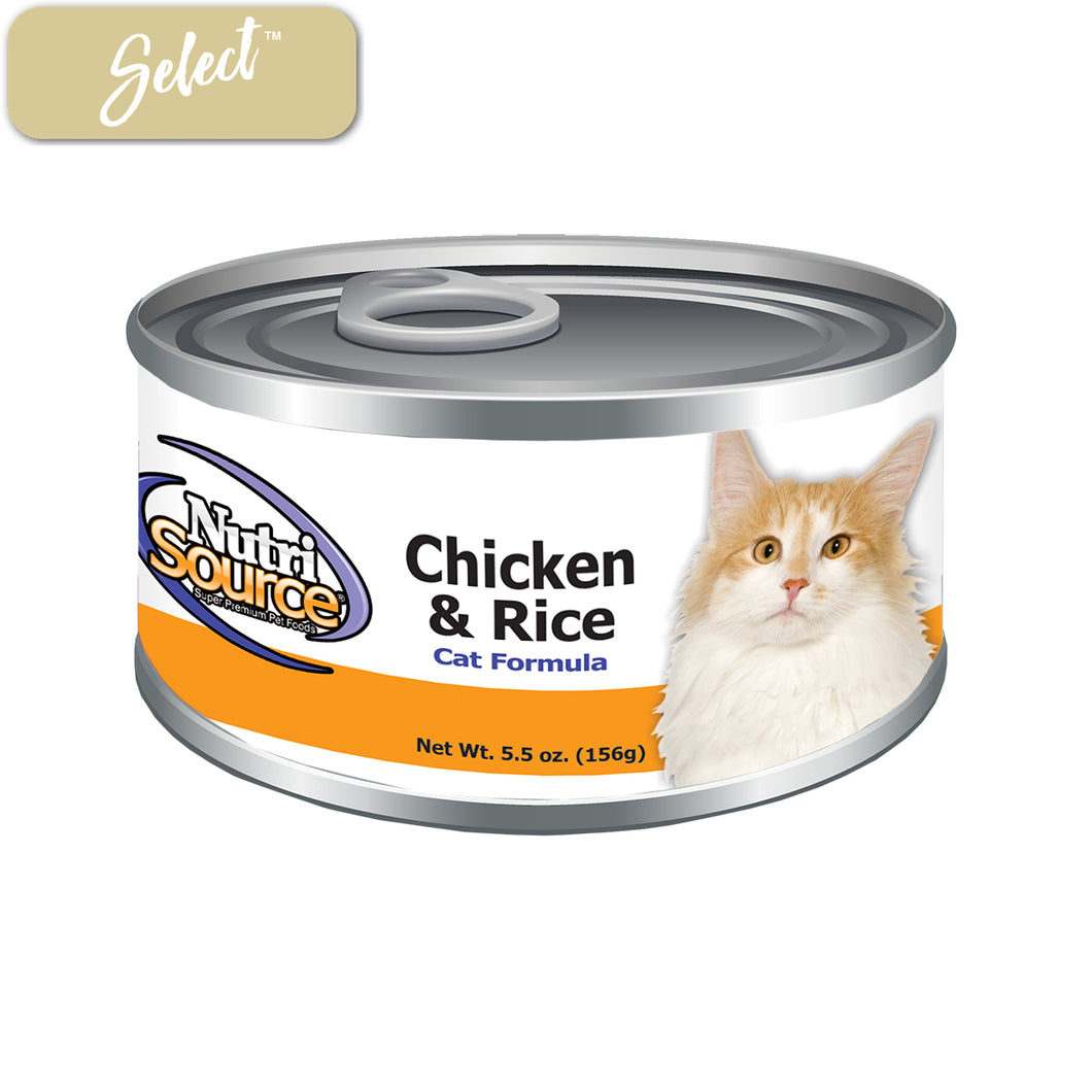 Nutrisource Chicken and Rice Cat Cans