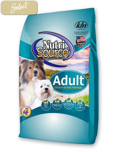 Nutrisource Adult Chicken and Rice Dog Food