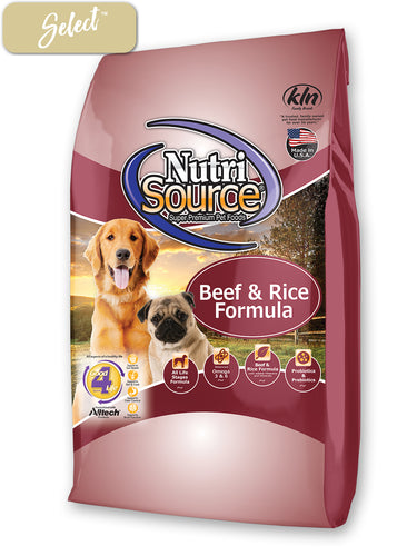 Nutrisource Beef and Rice Dog Food